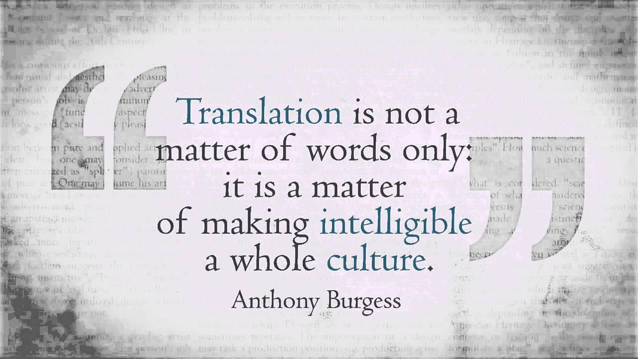 Translation versus Localisation